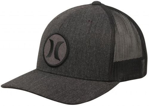Hurley Black Textures Patch Hat