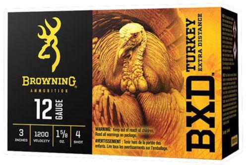 """Browning Ammunition BXD Turkey 12 Gauge 3"""" Ammunition"""