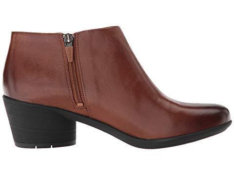 Dansko Raina Burnished Leather Bootie - Women's