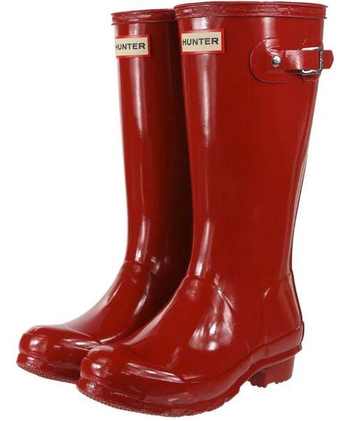 Hunter Original Gloss Rain Boot - Youth