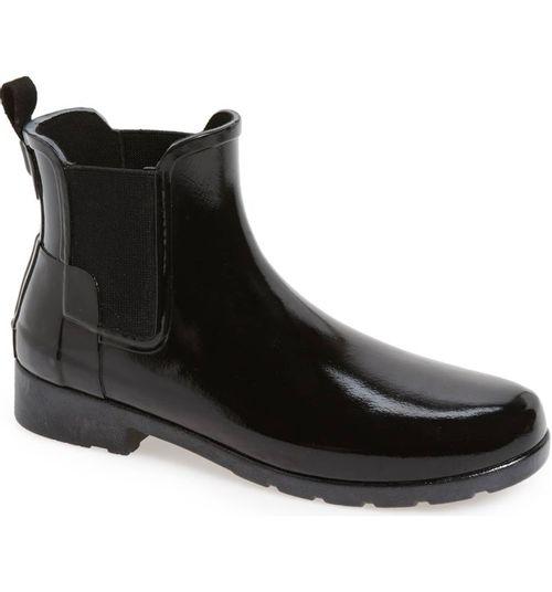 Hunter Original Refined Chelsea Gloss Boot - Women's
