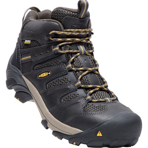 Keen Lansing Waterproof Steel Toe Work Boots - Men's