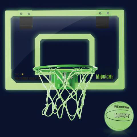 Sklz Pro Mini Hoop Midnight Glow in the Dark Basketball Hoop