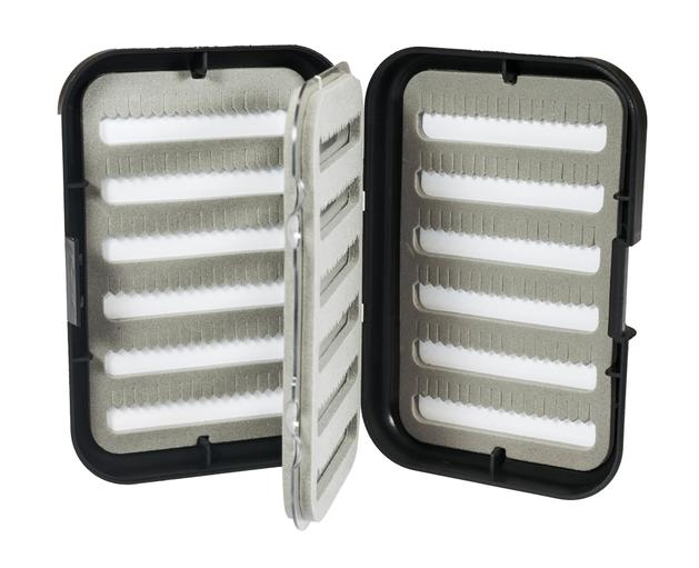 New Phase Fly Fishing ABS Fly Box with Swing Leaf