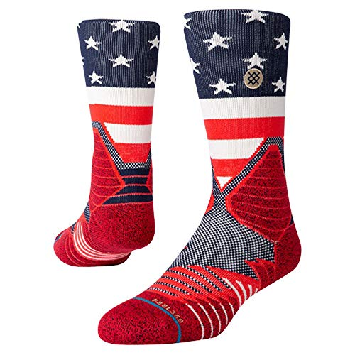 Stance Hoops American Crew Sock - Men's