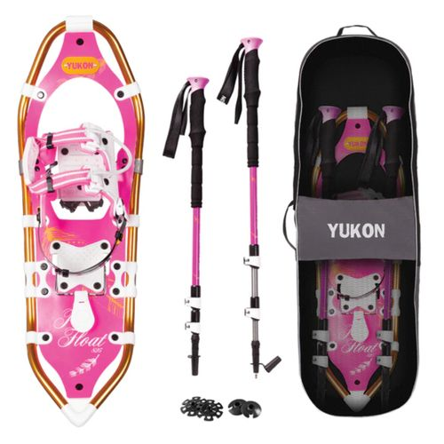 Yukon Pro Float Women's Snowshoe Kit
