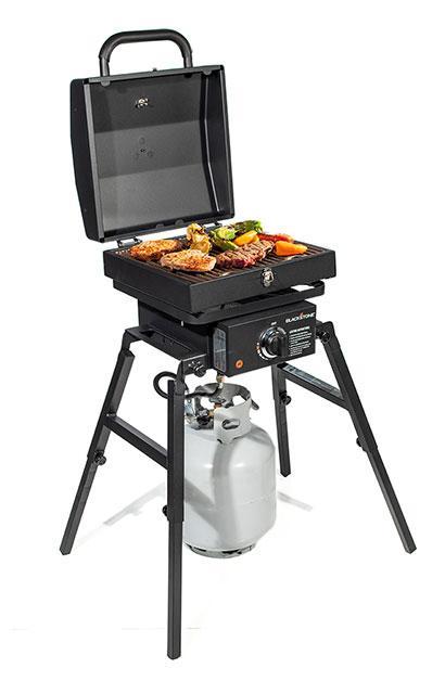 Blackstone Single Burner Stove & Tailgater Grill Box Combo