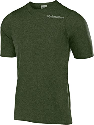 Troy-Lee-Designs-Skyline-Short-Sleeve-Jersey-Mens-Heather-Green-M