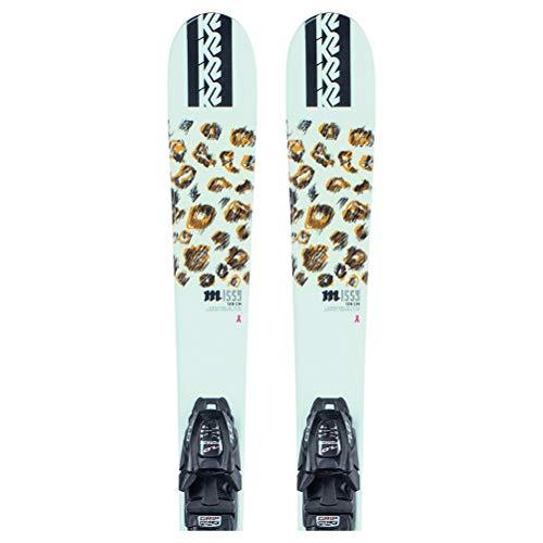 K2 Missy 7.0 Kids Skis with FDT Jr 7.0 Bindings 129cm