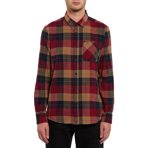 Volcom Plaid Long Sleeve Shirt - Men's
