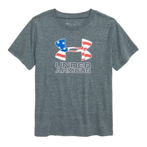 Under Armour Americana Logo Performance T-Shirt - Boys'