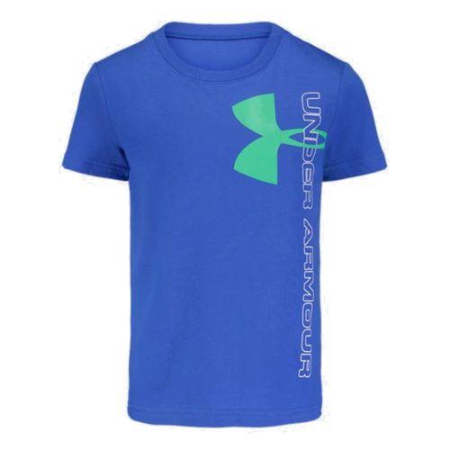 Under Armour Split Logo Short Sleeve Shirt - Boys'