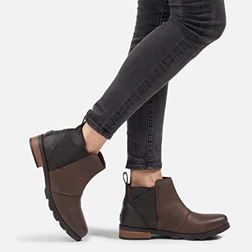 Womens Emelie Chelsea Waterproof Ankle Boots Sorel