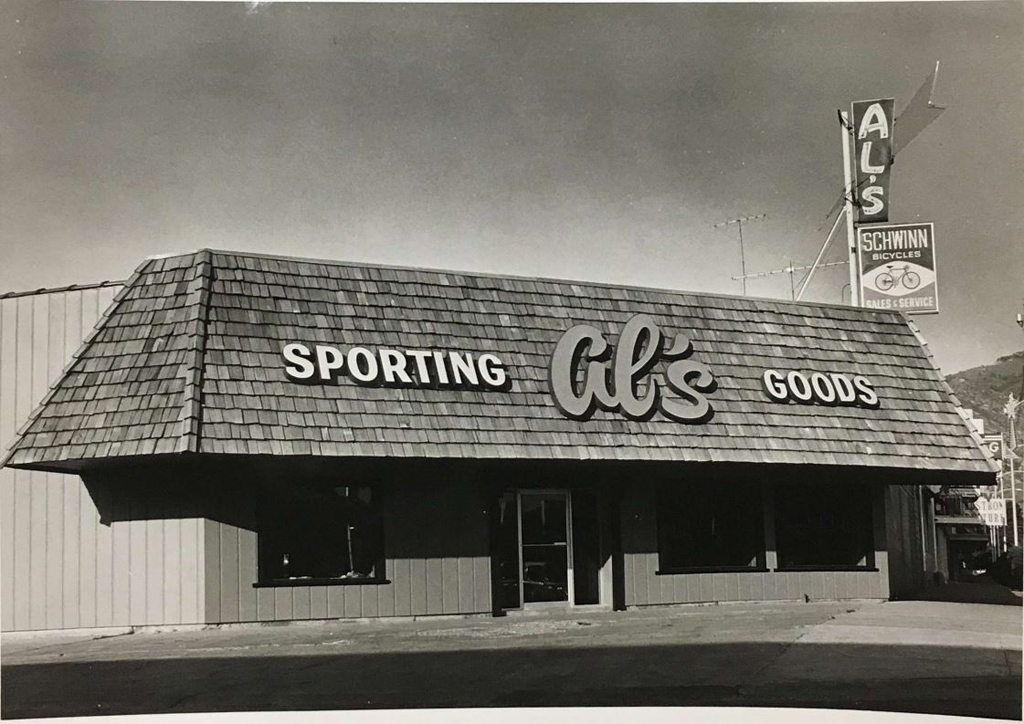 Old Photo of Al's Sporting Goods